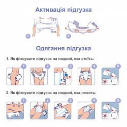 Подгузники для взрослых SENI STANDARD PLUS AIR Medium (2) 30 шт.