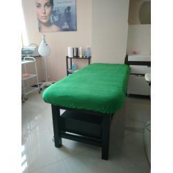 Чехол флисовый на кушетку, 2,30х1,00м, зелёный
