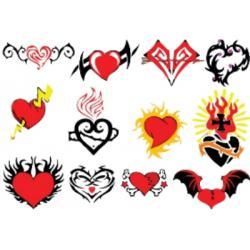 Лист для временной (переводной) татуировки №2306