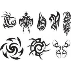 Лист для временной (переводной) татуировки №2316