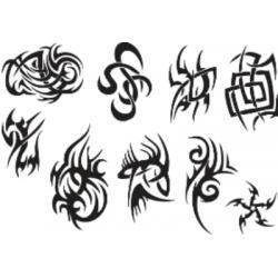 Лист для временной (переводной) татуировки №2317