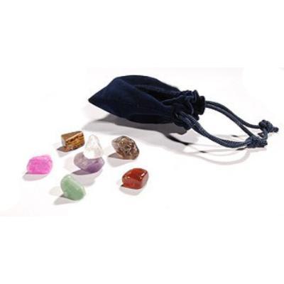 Набор чакральных камней для стоун терапии UMS-7TC