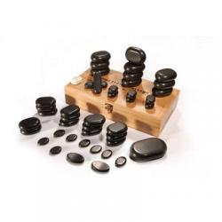 Набор базальтовых камней для стоунтерапии UMS-45tc2