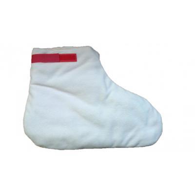 Флисовые носочки для парафинотерапии