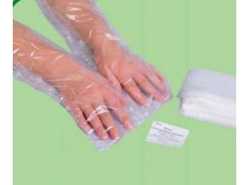Полиэтиленовые пакеты для рук 100 шт
