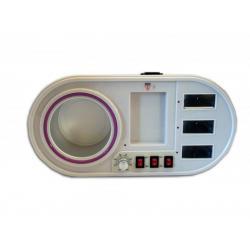 Воскоплав на 3 кассеты и банку профессиональный UMS-8327